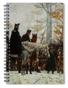 The March To Valley Forge, Dec 19, 1777 Spiral Notebook