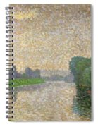 The Marne At Dawn Spiral Notebook