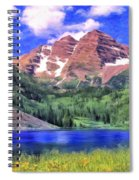 The Maroon Bells Spiral Notebook