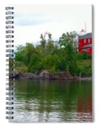 The Marquette Lighthouse Spiral Notebook