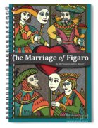 The Marriage Of Figaro Spiral Notebook