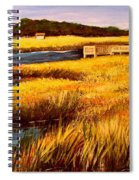 The Marsh At Cherry Grove Myrtle Beach South Carolina Spiral Notebook