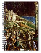 The Martyrdom Of St Jacques Spiral Notebook