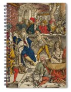 The Martyrdom Of St John Spiral Notebook
