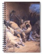The Martyrdom Of The Holy Innocents 1868 Spiral Notebook