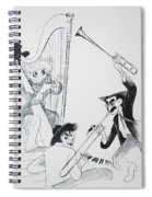 The Marx Brothers O Spiral Notebook