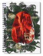 The Mask Of Tutankhamun Spiral Notebook