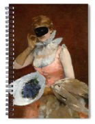 The Masque Spiral Notebook