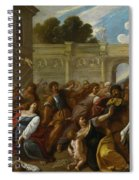 The Massacre Of The Innocents Spiral Notebook