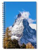 The Matterhorn Mountain Spiral Notebook