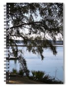 The May River In Bluffton Spiral Notebook