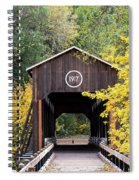 The Mckee Bridge Spiral Notebook