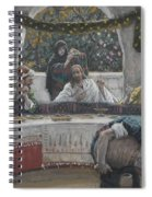 The Meal In The House Of The Pharisee Spiral Notebook