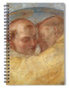 The Meeting Of St Francis And St Dominic  Spiral Notebook