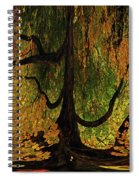 The Melting Tree Spiral Notebook