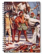 The Merchants Of Calicut, India, Held Spiral Notebook