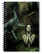 The Mermaid And The Sailor Spiral Notebook