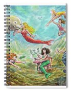 The Mermaids Of Weeki Wachee State Park Spiral Notebook
