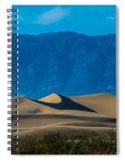 The Mesquite Dunes Spiral Notebook