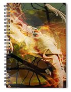 The Message Ignored Spiral Notebook