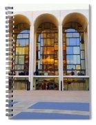 The Metropolitan Opera House Spiral Notebook
