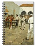 The Mier Expedition-the Drawing Of The Black Bean Spiral Notebook