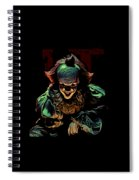 the Mighty Clown Spiral Notebook