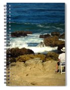 The Mighty Pacific Grab A Chair And Watch The Show Three Spiral Notebook