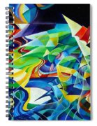 the migration of the Canadian geese Spiral Notebook