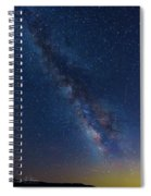 The Milky Way 2 Spiral Notebook