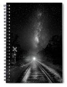 The Milky Way Express Spiral Notebook
