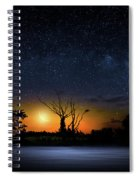 The Milky Way Tree Spiral Notebook