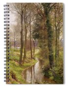 The Mill Stream Spiral Notebook
