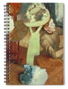 The Millinery Shop Spiral Notebook