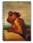The Minotaur  Spiral Notebook