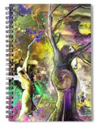 The Miraculous Conception Spiral Notebook