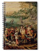 The Miraculous Draught Of Fishes Spiral Notebook
