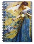 The Mirror 1910 Spiral Notebook