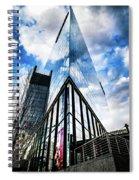 The Mirror Buiding Spiral Notebook