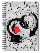 The Missing Puzzle Piece Spiral Notebook