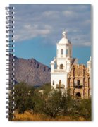 The Mission And The Mountains Spiral Notebook