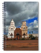 The Mission In Tuscon Arizona Spiral Notebook