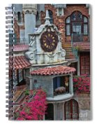 The Mission Inn Clock Tower Spiral Notebook