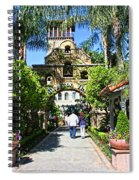 The Mission Inn Stage Coach Entrance Spiral Notebook