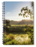 The Mists Of The Morning Spiral Notebook