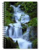 The Misty Brook Spiral Notebook