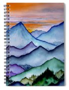The Misty Mountains Spiral Notebook