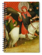The Mocking Of Saint Thomas Spiral Notebook