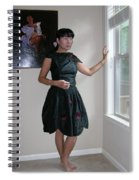 The Model And The Painting Spiral Notebook