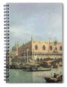 The Molo And The Piazzetta San Marco Spiral Notebook